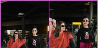 Shruti Haasan and Sarika make a splash at airport