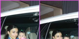 Soha Ali Khan takes daughter Inaaya Naumi Kemmu for a drive