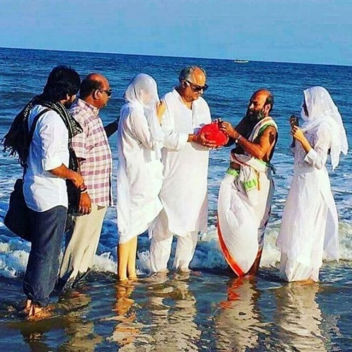 Sridevi ashes