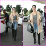 Sunny Leone all smiles for paparazzi at airport