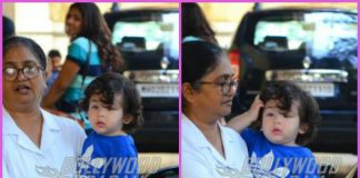 Taimur Ali Khan finishes play school time