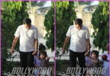 Taimur Ali Khan enjoys play time at a park