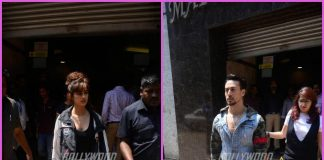 Tiger Shroff and Disha Patani promote Baaghi 2 in style