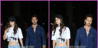 Disha Patani and Tiger Shroff return from Baaghi 2 promotions in Jaipur