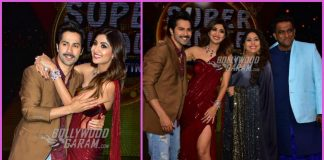 Varun Dhawan promotes October on sets of Super Dancer Chapter 2