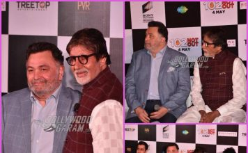 Amitabh Bachchan and Rishi Kapoor launch song Badumbaa from 102 Not Out