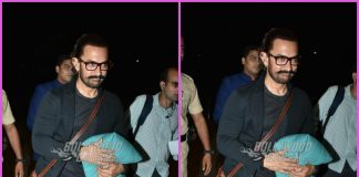 Aamir Khan all smiles during travel schedule