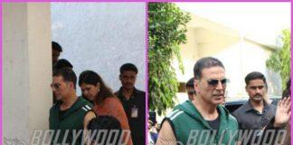 Akshay Kumar looks dapper outside girls' self defense classes