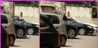 Alia Bhatt all smiles and waves for paparazzi outside gym