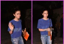 Alia Bhatt gets herself pampered at a salon