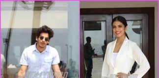 Ishaan Khatter and Malavika Mohanan promote Beyond The Clouds