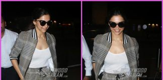 Deepika Padukone flashes million dollar smile at airport