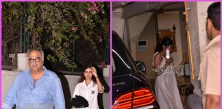 Janhvi Kapoor, Khushi Kapoor with Boney Kapoor visit Arjun Kapoor