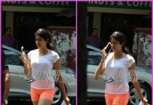 Janhvi Kapoor goes casual for salon session