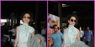 Kangana Ranaut makes a stylish appearance as she returns from Chandigarh