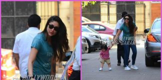Taimur Ali Khan and Kareena Kapoor visit Soha Ali Khan and Inaaya Naumi Kemmu