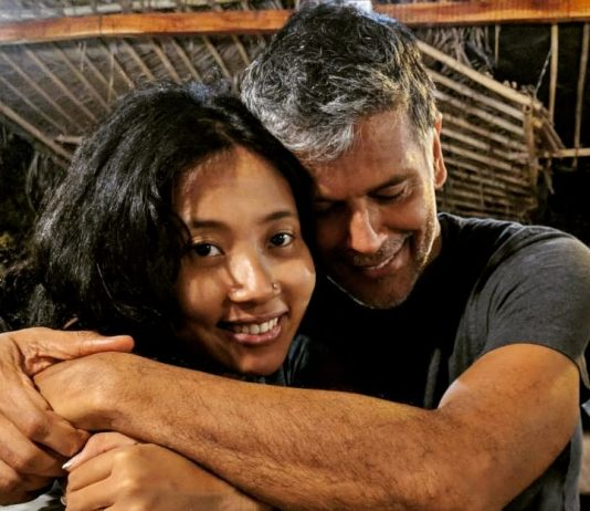 Milind Soman and Ankita Konwar rubbish break-up reports with a picture
