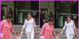 Mira Rajput Kapoor picks up Misha Kapoor from school
