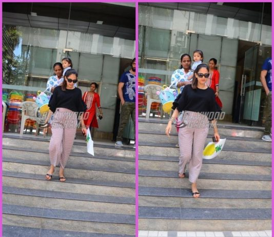 Mira Rajput picks up Misha Kapoor from her playschool
