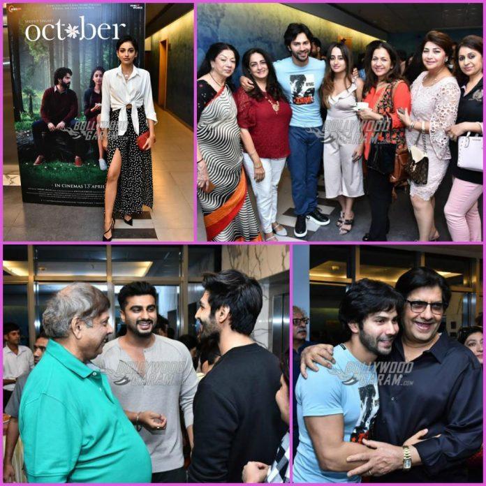 October premiere