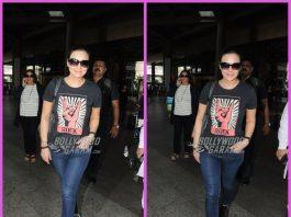 Preity Zinta makes casual appearance at airport