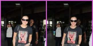 Preity Zinta makes casual appearance at airport