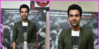 Rajkummar Rao promotes Omerta in style