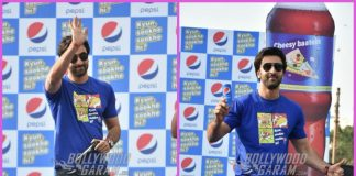 Ranbir Kapoor launches new look of Pepsi at an event