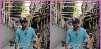 Ranbir Kapoor looks dapper outside Karan Johar's office