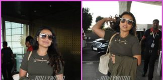Rani Mukerji makes style splash at airport