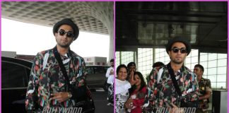 Ranveer Singh makes a quirky presence at airport