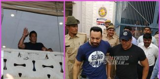 Salman Khan gets bail, waves to fans from his apartment