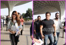 Jacqueline Fernandez and Salman Khan make a stylish appearance at airport