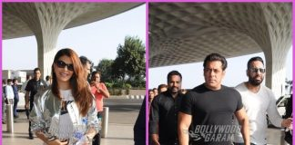 Jacqueline Fernandez and Salman Khan make a stylish appearance at airport