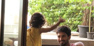 Shahid Kapoor shares a candid picture with Misha Kapoor