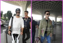 Karan Johar and Shahid Kapoor look stylish as they head to Delhi