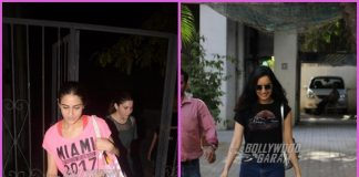 Sara Ali Khan hits gym while Shraddha Kapoor steps out for a casual outing