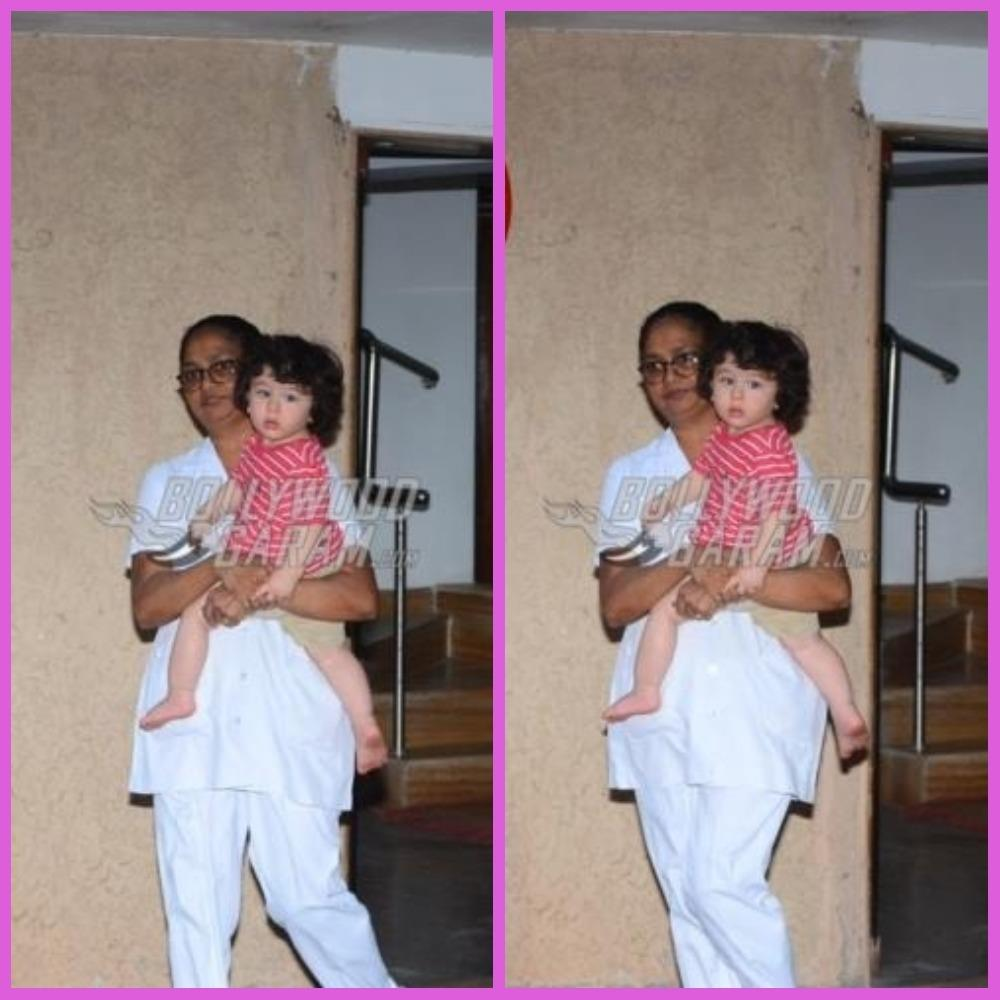 Taimur Ali Khan Looks Tired Post Playschool Time