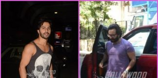 Saif Ali Khan busy at work, Varun Dhawan poses post gym session