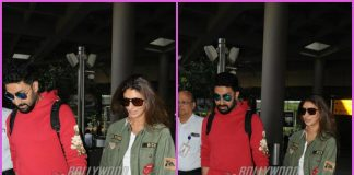 Abhishek Bachchan and Shweta Bachchan make a stylish exit from airport