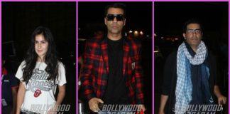 Katrina Kaif, Manish Malhotra and Karan Johar travel to London together