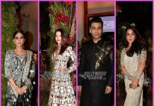 Amitabh Bachchan, Sonam Kapoor, Karan Johar and others at their best at a wedding reception – Photos