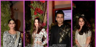Amitabh Bachchan, Sonam Kapoor, Karan Johar and others at their best at a wedding reception – Photos