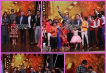 Amitabh Bachchan and Rishi Kapoor have fun on sets of Dance India Dance Li'l Masters