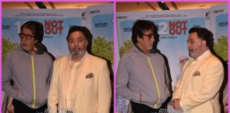 Amitabh Bachchan and Rishi Kapoor promote 102 Not Out in Mumbai