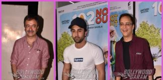 Ranbir Kapoor and Rajkumar Hirani catch special screening of 102 Not Out