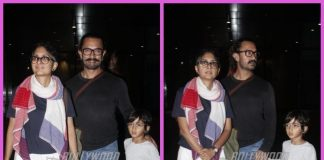 Aamir Khan, Kiran Rao and son Azad Rao Khan return to Mumbai