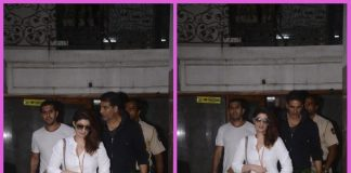 Akshay Kumar and Twinkle Khanna discuss work at Ritesh Sidhwani's office