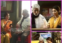 Amitabh Bachchan and Shweta Bachchan shoot together for an ad film