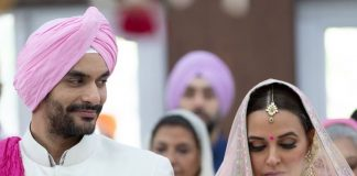 Newly-weds Neha Dhupia and Angad Bedi release joint statement